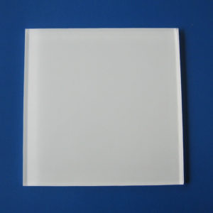 white paint glass